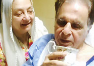 Dilip Kumar feeling better