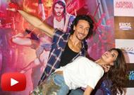 Tiger Shroff & Nidhhi Agerwal at 'Ding Dang' Song Launch from 'Munna Michael'