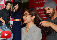 Varun Dhawan & John Abraham Promote 'Dishoom' at Fever 104 FM