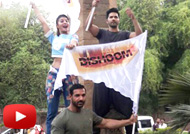 John Varun & Jacqueline Promote Dishoom in Nagpur