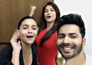Gauahar Khan joins team 'Badrinath Ki Dulhania'