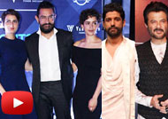 Aamir, Farhan, Anil Kapoor at Van Heusan GQ Night Show