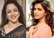 Hema Malini wishes Deepika on her engagement!!!