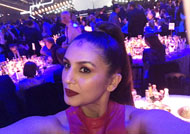 Huma Qureshi dazzle at Brit Awards 2017