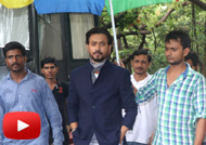 Irrfan Khan Promotes 'Madaari' on Sets of Chidiya Ghar