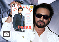 Irrfan Khan Unveils Stardust Magazine Cover August 2016 Issue