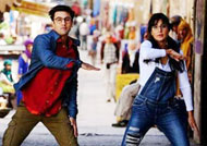 ADORABLE: Ranbir Kapoor and Katrina Kaif in 'Jagga Jasoos' latest still