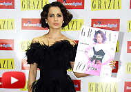 Kangana Ranaut Launches Grazia Magazines 100th Issue