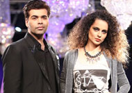 Karan Johar answers for Kangana's nepotism remark