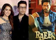 Karan Johar, Shraddha Kapoor go gaga over 'Raees'