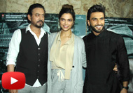Ranveer, Deepika, Irrfan at 'Madaari' Special Screening