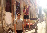 Ayushmann and Parineeti have fun in Kolkata: 'Meri Pyaari Bindu'