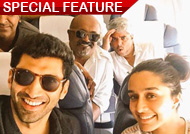 Shraddha Kapoor and Aditya Roy Kapur wrap up 'Ok Jaanu': See Pics