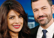 Priyanka goes LIVE again with Jimmy Kimmel