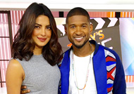 Priyanka Chopra joins Usher on Today Show