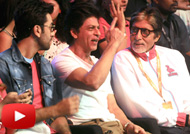 Amitabh, SRK, Abhishek, Ranbir at Opening Ceremony of PKL 4