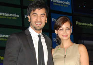 Dia Mirza as Ranbir Kapoor's reel wife