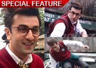 Ranbir Kapoor clicked while shooting for 'Jagga Jasoos'