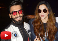 Ranveer Spotted With Girlfriend Deepika at Mumbai Airport