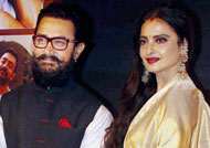 When Rekha made Aamir Khan to cry!