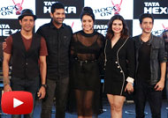 Farhan, Shraddha, Prachi at 'Rock On 2' Trailer Launch