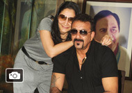 Sanjay Dutt Celebrates his 57th Birthday With Media