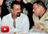 Sanjay Dutt at Khalid Babu Qureshi's Iftar Party