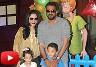 Sanjay Dutt Twins Iqra & Shahraan's Birthday Bash 2016