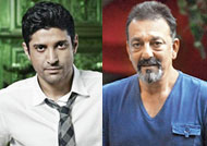 Sanjay Dutt & Farhan Akhtar bond over jail stories