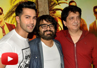 Varun Dhawan & Sajid Nadiadwala Launch 'Sau Tarah Ke' Song from 'Dishoom'