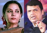 Shabana Azmi slams Maharashtra CM
