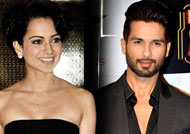 Shahid Kapoor denies any issue with Kangana Ranaut