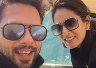 Soon-to-be parents Shahid & Mira is busy holidaying: See Here