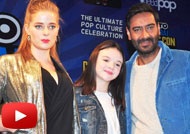 Ajay Devgn, Erika Kaar at 'Shivaay' Comics Launch