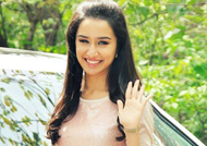 Shraddha Kapoor enjoying shooting 'Half Girlfriend' in Delhi