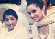 Lata Mangeshkar is fond of Shraddha Kapoor!