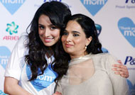 Shraddha Kapoor's mother turns emotional!! REASON WHY HERE
