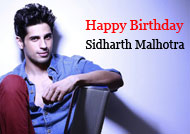 Happy Birthday, Sidharth Malhotra!