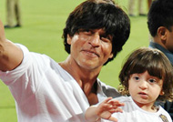 Shah Rukh Khan shares colourful pic of son Abram
