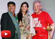 Sonam Kapoor & Ian Mckellen Inaugurate Kashish Film Festival 2016