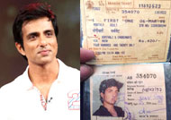 THROWBACK: Sonu Sood's first train pass