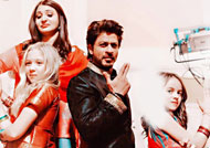 Shah Rukh Khan happiest with team 'The Ring'