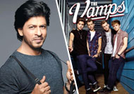 'The Vamps' falls in love with Shah Rukh Khan!