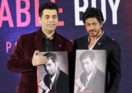 SRK wishes buddy Karan Johar for his book