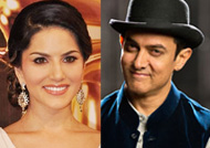 Sunny Leone's lunch date with Aamir Khan