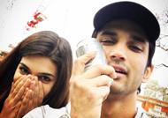 Sushant Singh Rajput gets a punch in his face by Kriti Sanon!! OMG