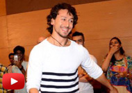 Tiger Shroff attends Cancer Patients Aid Association