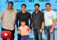 Salman Khan & Sohail Khan at Promotional Event of 'Tubelight'