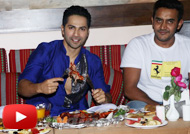 Varun Dhawan Visits Persian Darbar for Roza Iftar Party