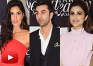 Ranbir, Katrina, Karisma at Vogue Beauty Awards 2016